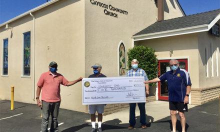 Cayucos Rotary  Donates
