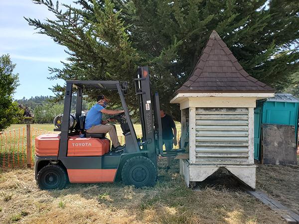 Work Continues on the Santa Rosa Schoolhouse