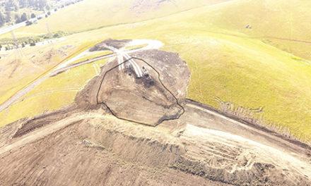 Major Landslide At City's WRF Site