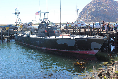 Vietnam Warship Docked At South T-pier