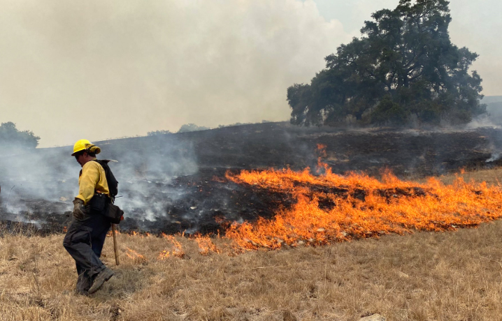 Lightning Strikes  Probable Cause of Cayucos Fires