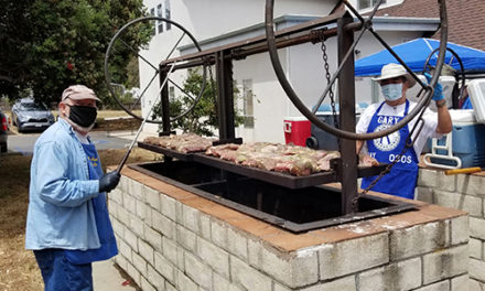 Kiwanis Club Barbecue Big Success