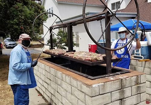Kiwanis Club Barbecue Big Success