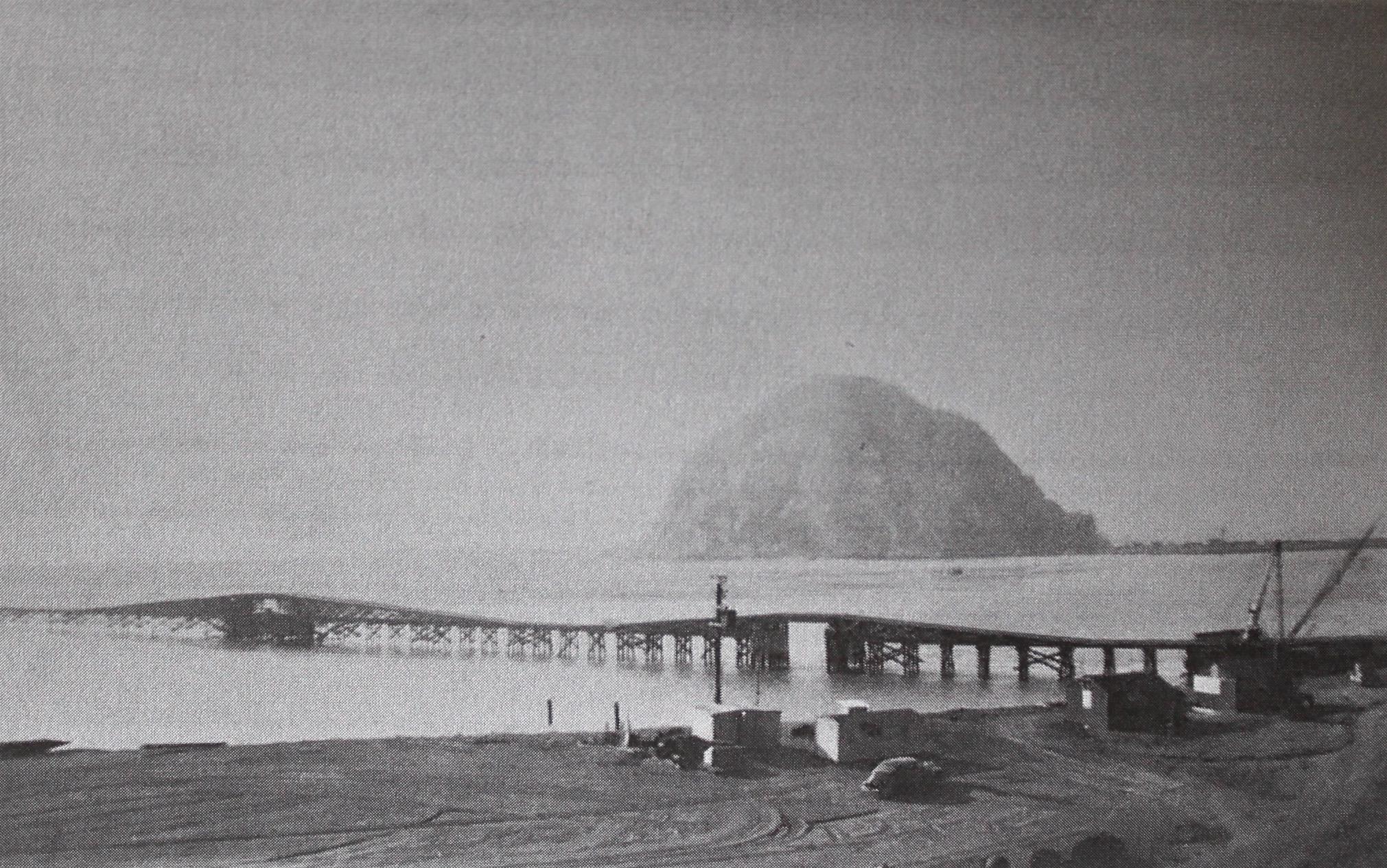 Morro Rock circa World War 2