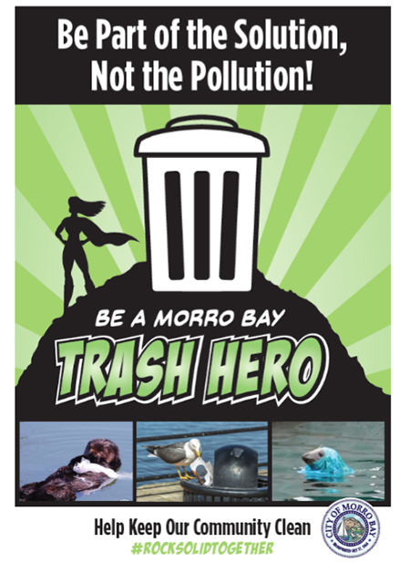 City Launches 'Be a Trash Hero' Effort