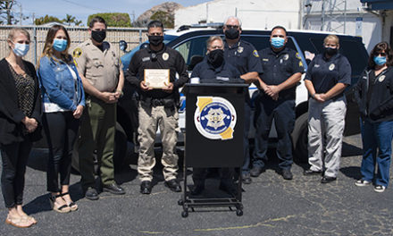 MBPD Officer Gets Footprint Association Award