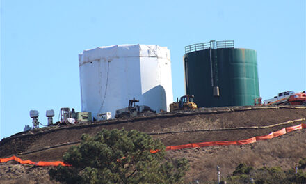 Water Tank Work Progressing