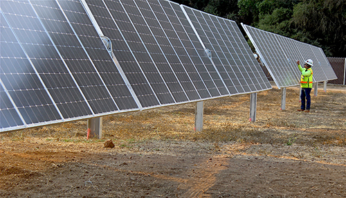 County Shines With Solar Program