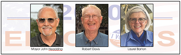 Headding, Davis and Barton Lead on Election Night