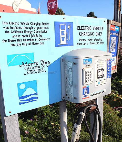 City Passes EV Station Law