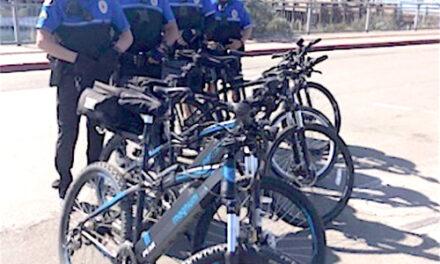 MBPD Gets E-bikes