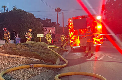 MBFD Fights Suspicious Fire