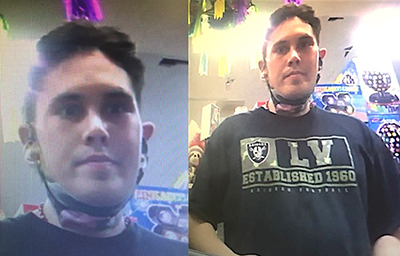 Dog-Faced Raiders Fan Wanted for Fraud