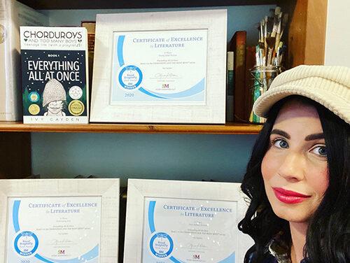 Debut by Local Novelist is Award Winner