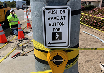 Los Osos Tests Crosswalk Technology, First in County