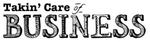 Takin' Care of Business logo