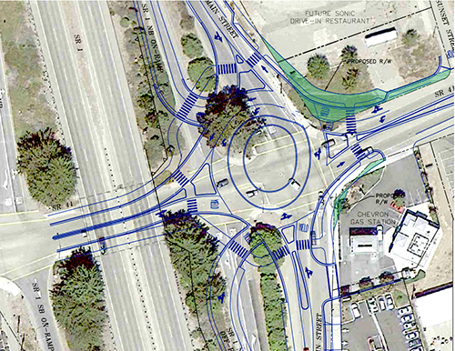 City Still Going 'Round on Main/Hwy 41 Roundabout