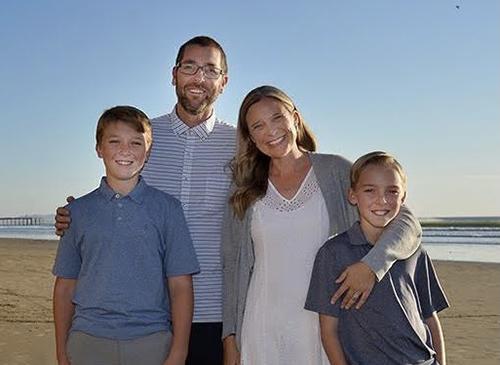 Lisa Stephens and her family