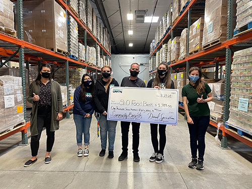 Perfect Union Helps Food Bank