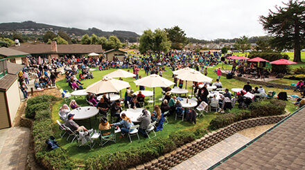 Dancing and Live Music Brings Barefoot Fans