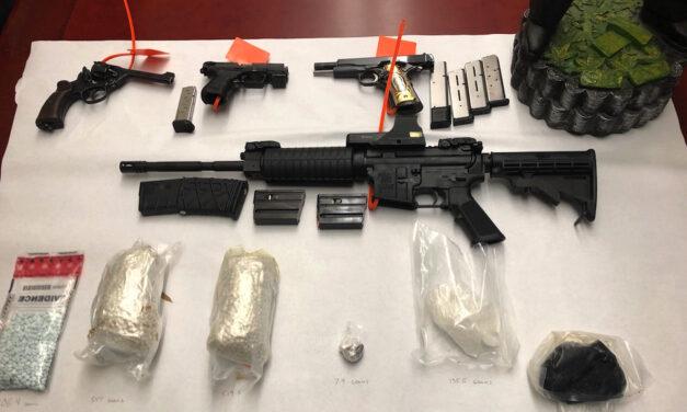 Templeton Drug Bust Finds Heroin, Fentanyl, Guns