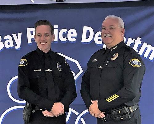 New Officer, a Homecoming
