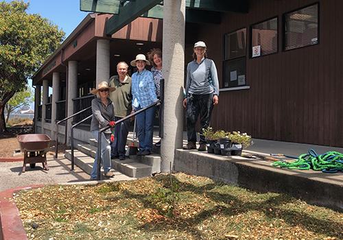 Community Center Gets a New Garden