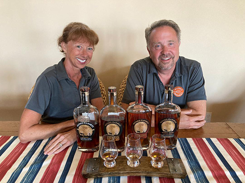 Moving Forward: Jim and Gloria Zion Re-Launch Wicked Harvest Spirits
