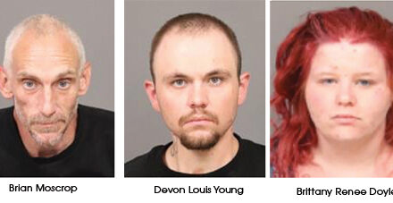 Three Arrested on Drug; Theft Charges