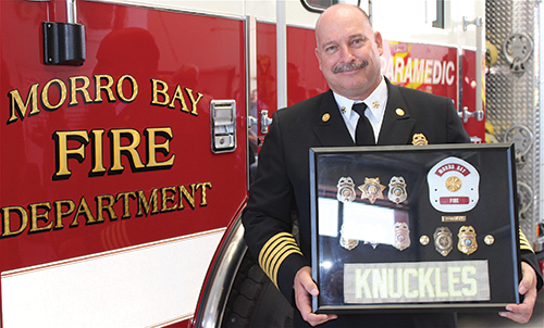 Retired Morro Bay Fire Department Chief Steve Knuckles