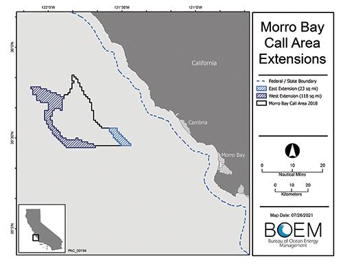 Federal Bureau of Ocean Energy Management plan