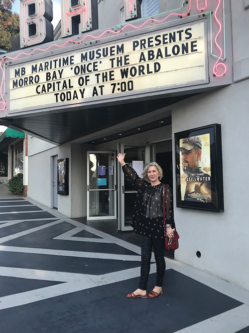 Abalone History Film at the Bay Theater