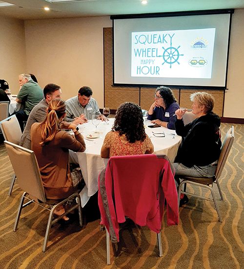 Squeaky Wheel Happy Hour by MB Chamber