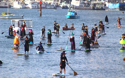 Witches Paddle, Oct. 29